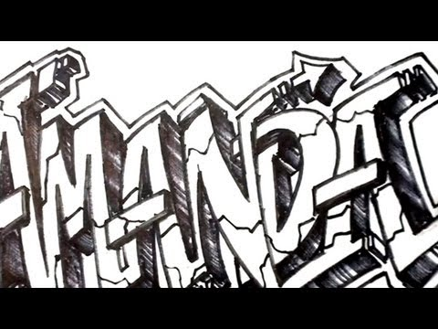 ... Graffiti Letters step by step - Dream How to Draw Graffiti Letters