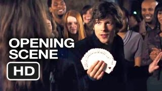 Now You See Me Official Opening Scene (2013) Mark