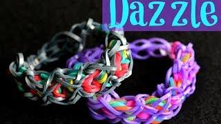How To Make The Rainbow Loom Dazzle Bracelet