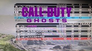 Call of Duty GHOSTS: Ghetto Hacked Lobby!