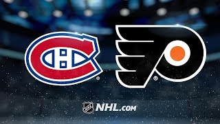 Giroux, Konecny power Flyers to 5-3 win against Habs