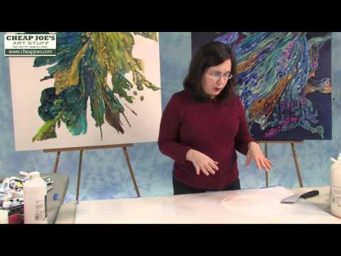 Debbie Arnold- How to Create a Poured Acrylic Skin