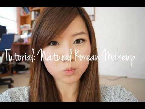 Everyday Korean Natural Makeup Look Tutorial, READ ME ! ^_^ Hello everyone! This video is a 'Korean Natural Makeup Look'. It is a everyday wearable look, so I hope you guys enjoy! :) Products mentioned i...