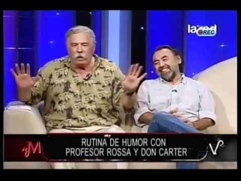 """Profesor Rossa y su chiste """"finito"""" en Mentiras Verdaderas"""
