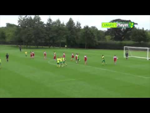 MONTH OF GOALS: Norwich City U18s, September 2013