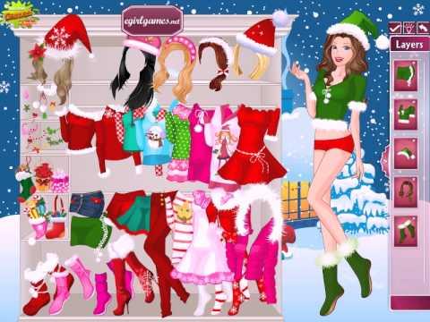 Barbie christmas night dress up juegos gratis jeux - Jeux gratuit barbie ...