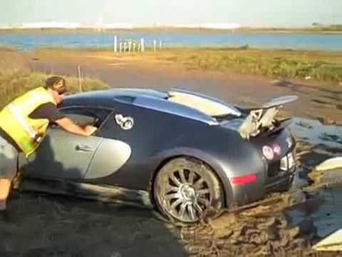 Bugatti veyron crash in lake - photo#13