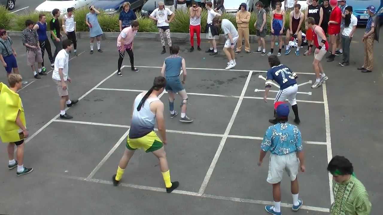 Belmont High Downball Championships 2012 - YouTube