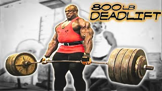 Ronnie Coleman 800lb Dead Lift - The Unbelievable Full Version - Part 2