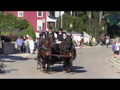 Mackinac Island Festival of the Horse ~ Highlights from 2013