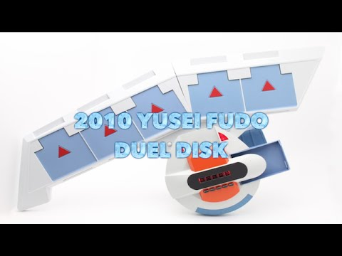 Yu-Gi-Oh 5ds 2010 Yusei Fudo Duel Disk Tutorial