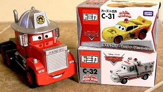 Patrol Lightning McQueen & Ambulance Mater Rescue-Go-Go
