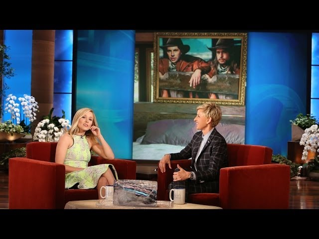 Kristen Bell Discusses Her Husband's Love for Brad Pitt