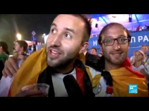 Germany fans react to incredible 7-1 victory over Brazil