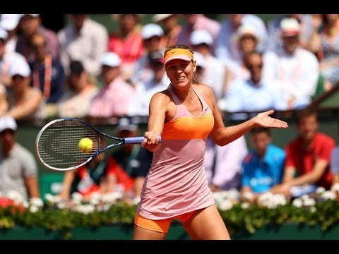 Maria Sharapova vs. Simona Halep French Open 2014 Final