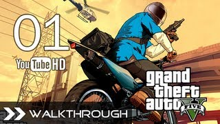 GTA 5 Walkthrough Grand Theft Auto V Gameplay Story Mode