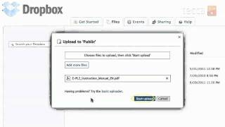 Just Show Me: How To Upload Files To Dropbox