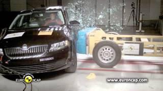 Skoda Octavia çarpışma, kaza testi - Euro NCAP 2013