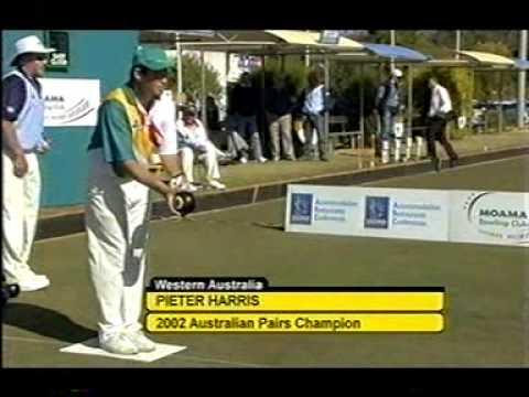 Lawn Bowls: 2003 Super Singles Final S Glasson Vs P Harris