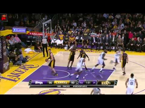 Sacramento Kings vs Los Angeles Lakers | February 28, 2014 | NBA 2013-14 Season