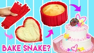 Bake a Cake in Any Shape?! 😱 Testing Kitchen Gadget - Bake Snake