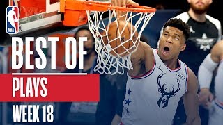 NBA's Best Plays | Week 18