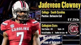 2014 NFL Draft Profile: Jadeveon Clowney Strengths And