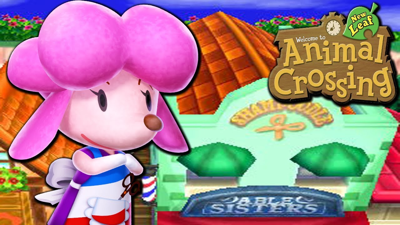animal crossing new leaf how to get shampoodle youtube