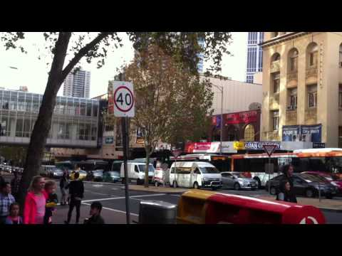 Protest Against Tony Abbott Causes Traffic Jam