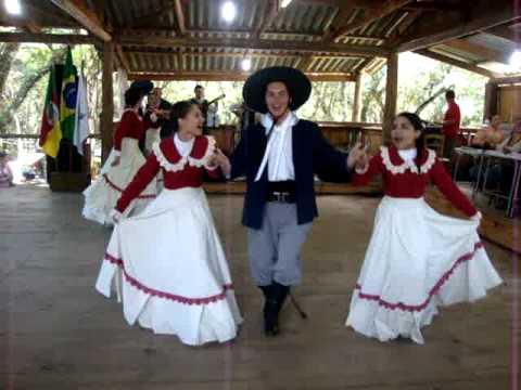 Xote Das Duas Damas CTG Rancho de Gauderios - Rodeio Fagundes Varela