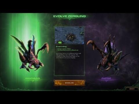 Скриншоты Heart of the Swarm, добавлены арты, превью и геймплейное видео