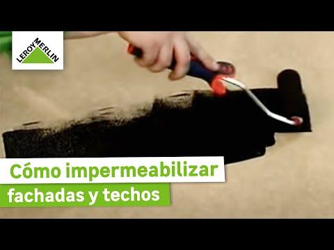 Impermeabilizar fachada exterior y tejados leroy merlin for Guaina bituminosa leroy merlin