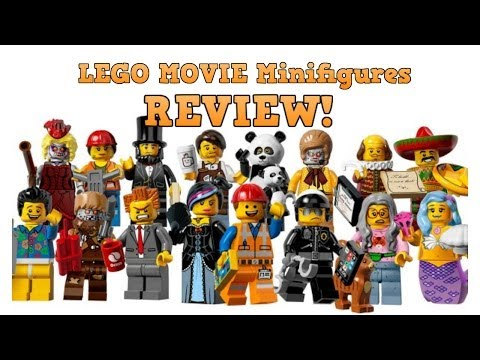 COMPLETE Set! LEGO Movie Collectable Minifigures (Series 12) Review