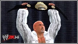 WWE 2K14 How To Make The IWGP World Heavyweight