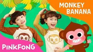 Monkey Banana Dance | Dance Along | Pinkfong Songs for Children