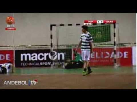 Andebol :: 16J :: Sporting - 31 x Aguas Santas - 24 de 2013/2014