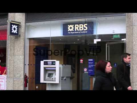 General View Of Royal Bank Of Scotland Victoria Street br...