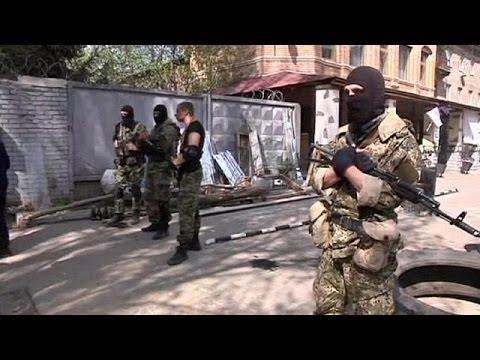 US Vice President Joe Bidon arrives in Kyiv