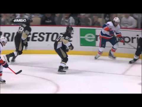 Sidney Crosby Goal Pittsburgh Penguins vs New York Islanders May 9th 2013