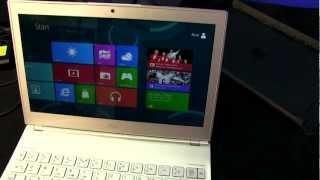 Acer Aspire S7 Dokunmatik ekranlı Windows 8 Notebook kutudan çıkarma
