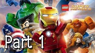 LEGO: Marvel Super Heroes Sand Central Station Part 1