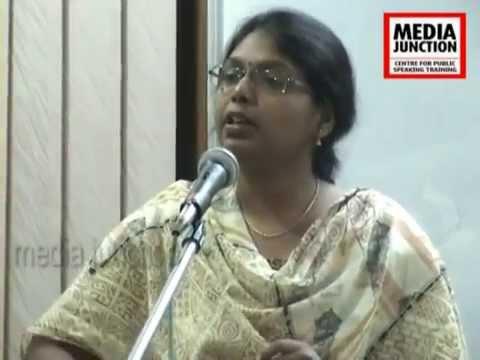 K. P. Sujani,Workshop Participant,Media Junction,Hyderabad.