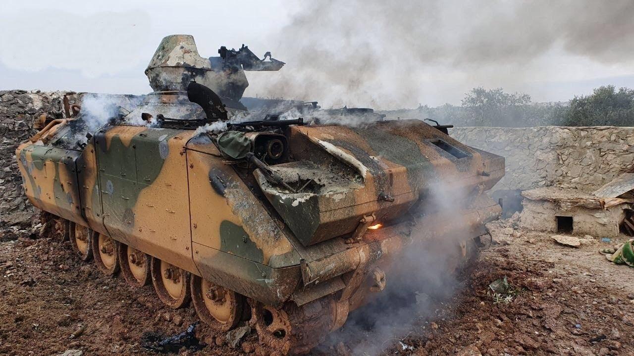 Война в Сирии 2.0: Русские бойцы уже бомбят танки