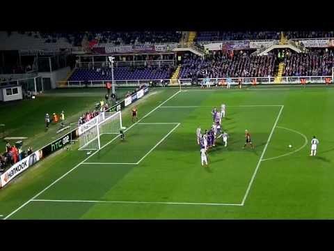 FIORENTINA - JUVENTUS 0-1 20/03/2014 Goal Andrea Pirlo