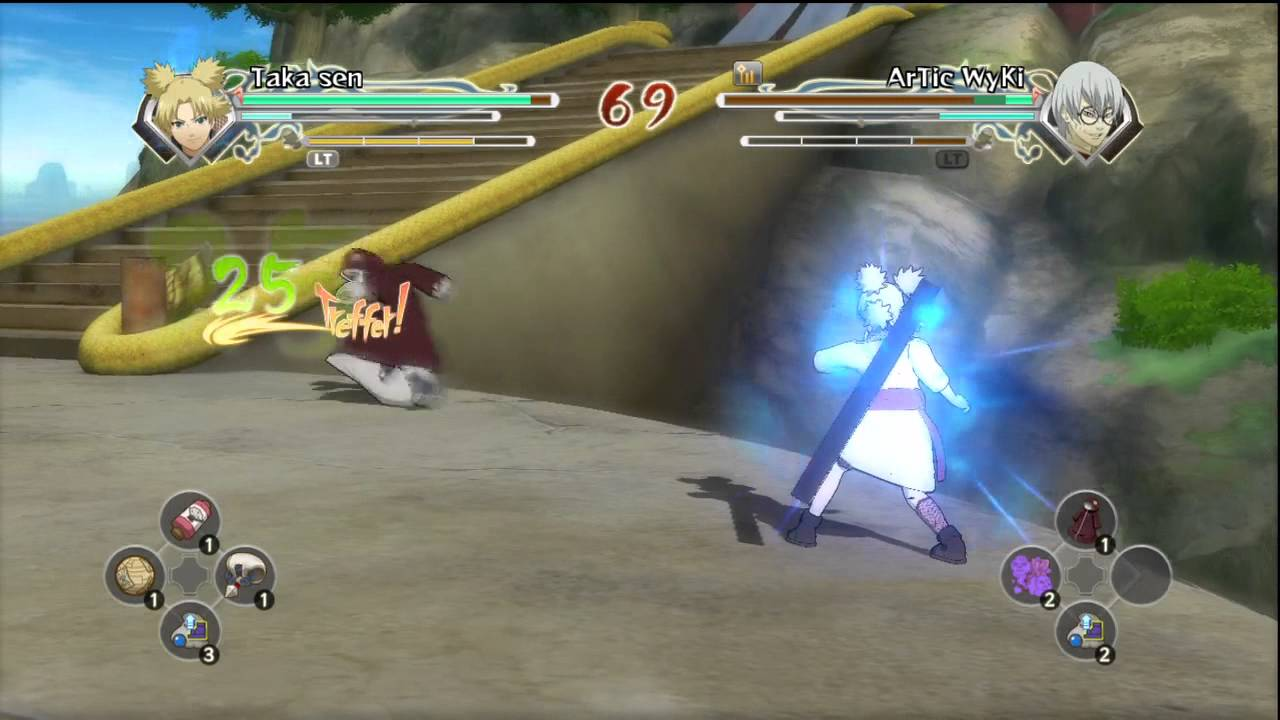 Naruto Ultimate Ninja Storm Generation Online Battle Temari Me