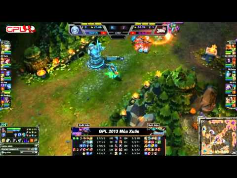 [GPL 2013 Mùa Xuân] [Tuần 1] Saigon Fantastic Five vs Saigon Jokers [05.01.2013]]
