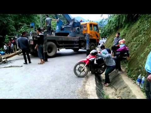 Cứu hộ giao thông tại Dào San - Lai Châu (Phần 2)