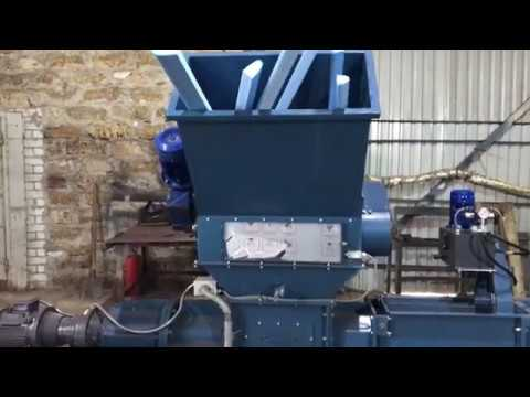 Ecopolymer Screw compactor KDM-360 for XPS/dust