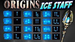 Ice Staff ORIGINS Zombies HOW TO BUILD AND UPGRADE
