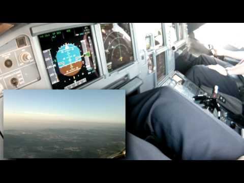 Minimum Visibility ILS Landing - Cockpit View (FULL VERSION)